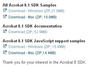 Acrobar SDK Download(11)
