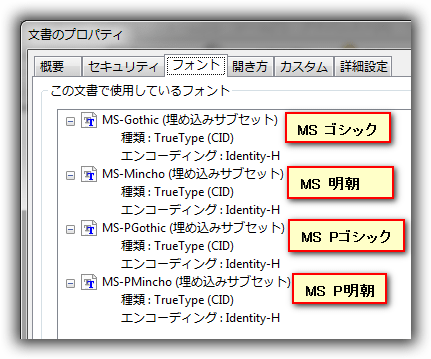 AFormAut : Field.TextFont プロパティ(フォント)