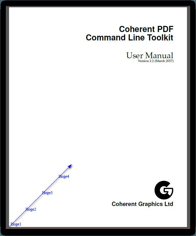 CPDF -bottomleft オペレーション