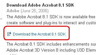 Acrobar SDK Download(2)